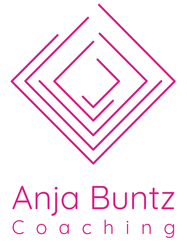2020 02 18 Logo Anjabuntz Coaching Magenta Web